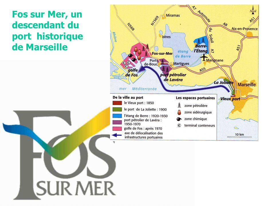 Fos sur Mer, un descendant du port historique de Marseille