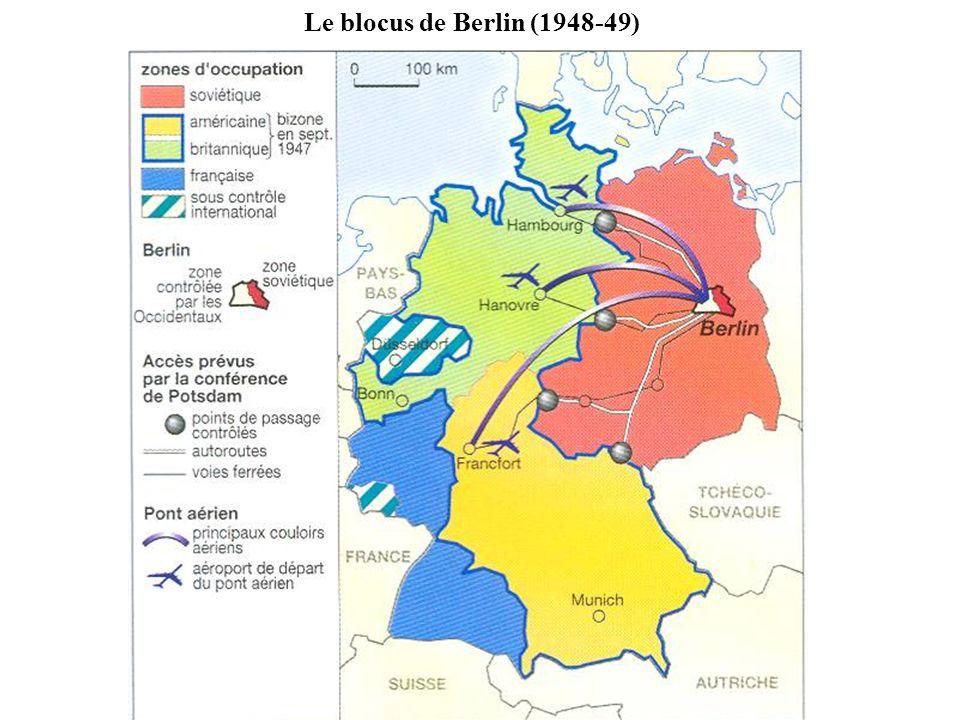 Le blocus de Berlin (1948-49)