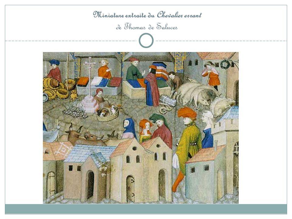Miniature extraite du Chevalier errant de Thomas de Saluces