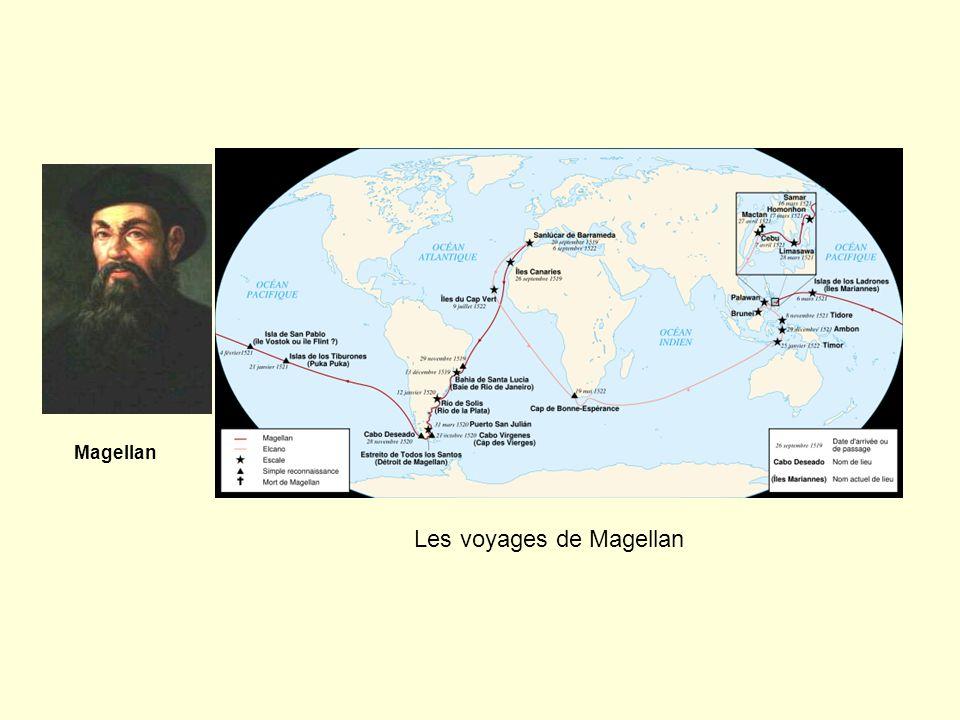 Magellan Les voyages de Magellan