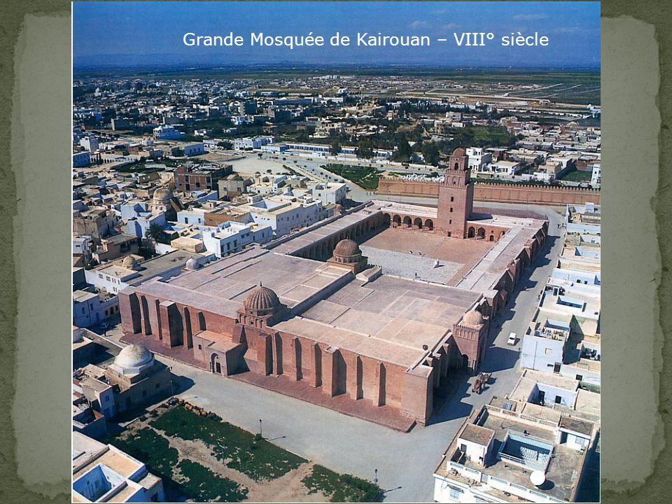 Grande Mosquée de Kairouan – VIII° siècle