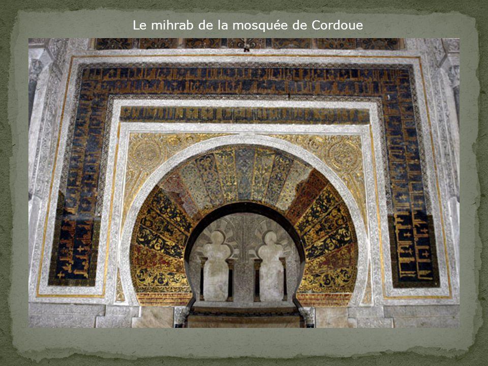 Le mihrab de la mosquée de Cordoue