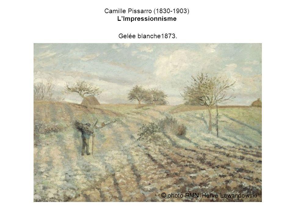 Camille Pissarro (1830-1903) LImpressionnisme Gelée blanche1873.