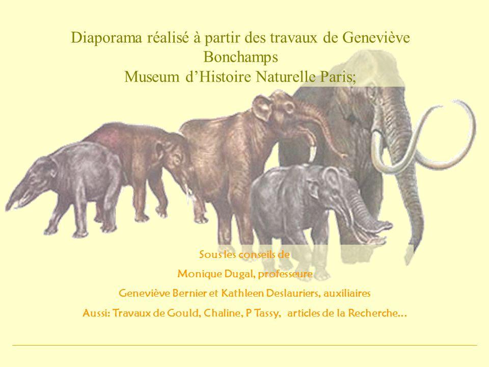 Diaporama réalisé à partir des travaux de Geneviève Bonchamps Museum dHistoire Naturelle Paris; Sous les conseils de Monique Dugal, professeure Genevi