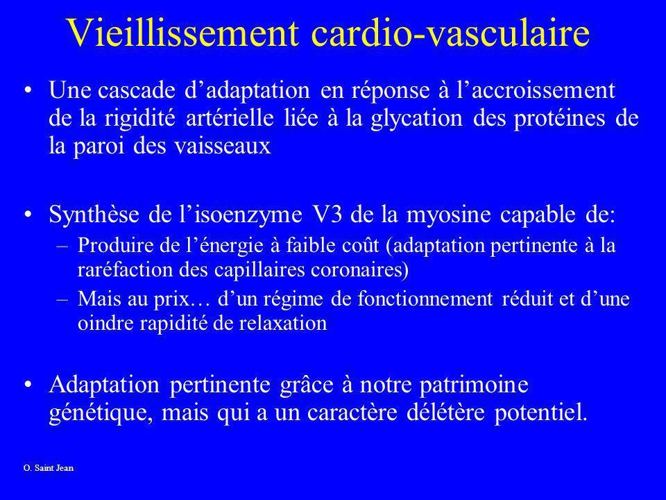 Vieillissement cardio-vasculaire Une cascade dadaptation en réponse à laccroissement de la rigidité artérielle liée à la glycation des protéines de la