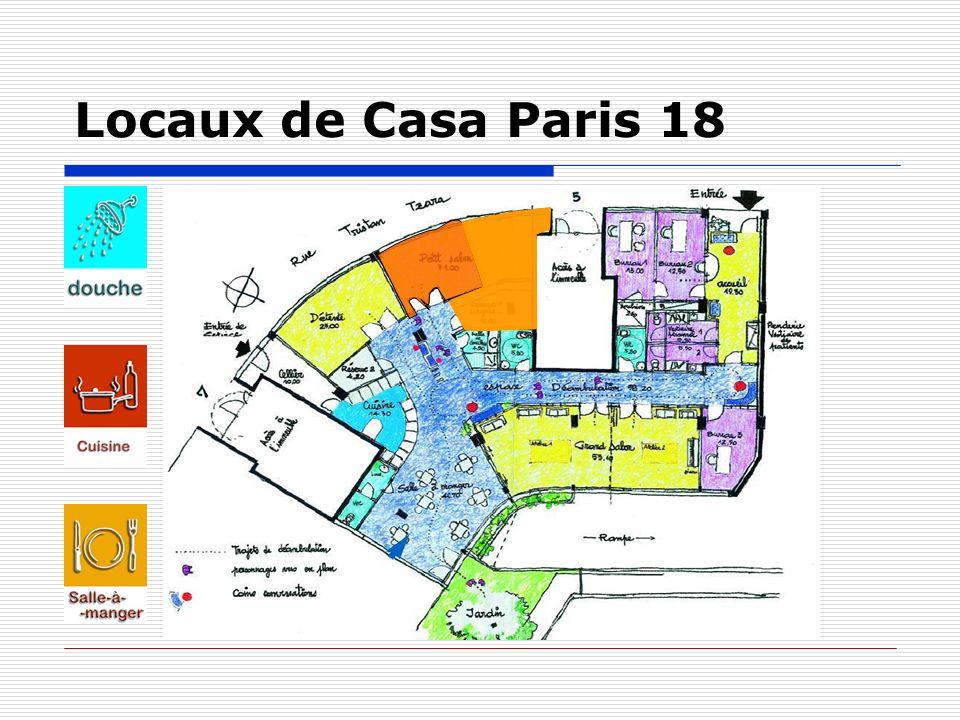 Locaux de Casa Paris 19