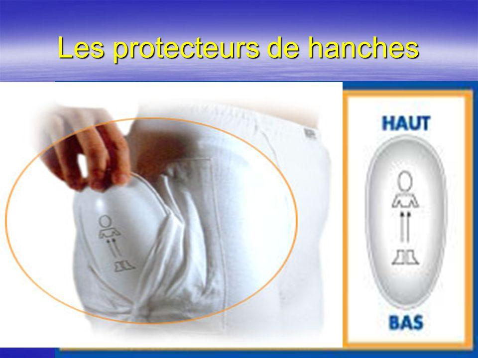4 Les protecteurs de hanches