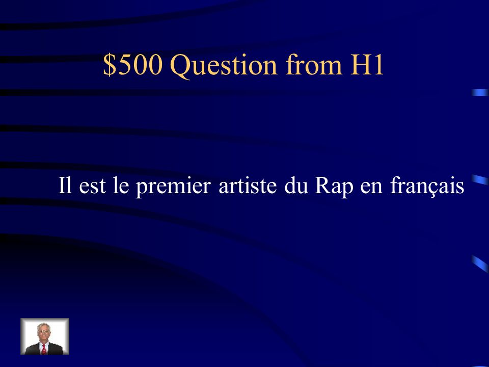 $400 Answer from H1 Hergé