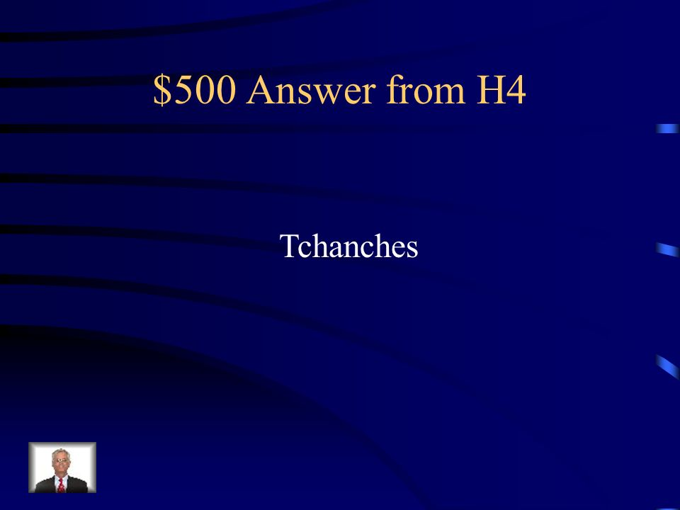 $500 Question from H4 Comment sappelle le mascot/marionette de Liege