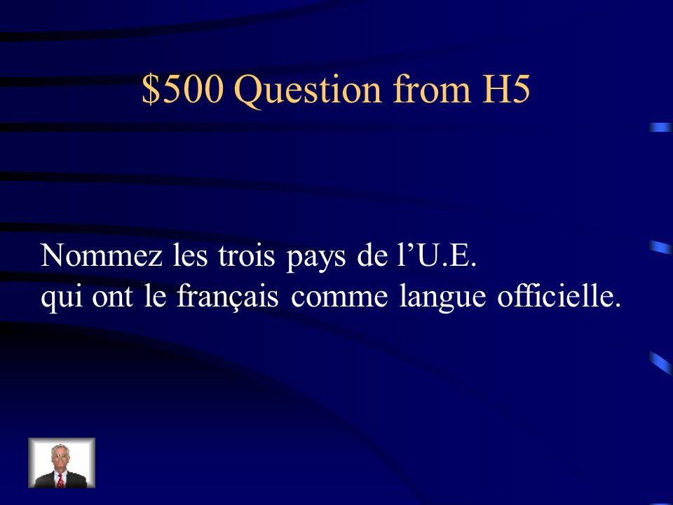 $400 Answer from H5 Les 12 mois de lannée
