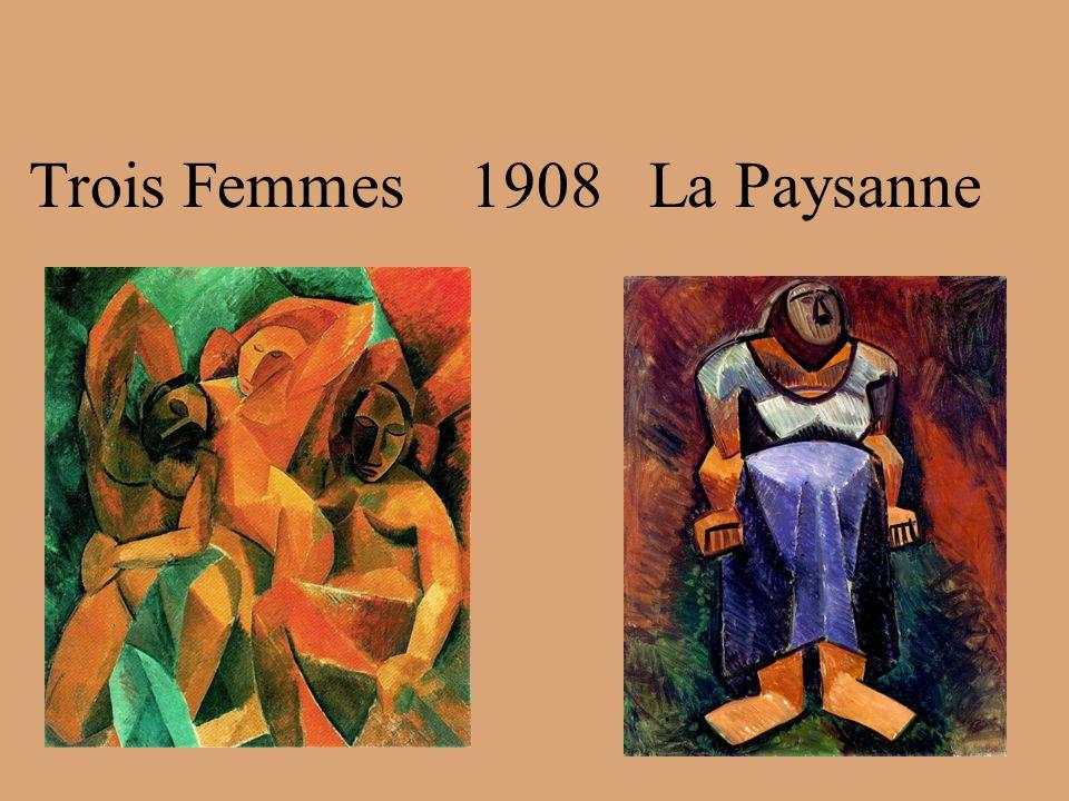 Trois Femmes 1908 La Paysanne