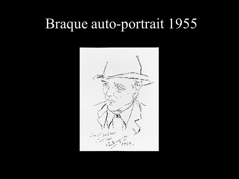 Braque auto-portrait 1955