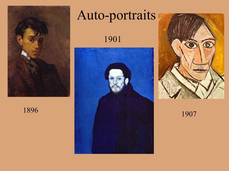 Auto-portraits 1901 1896 1907