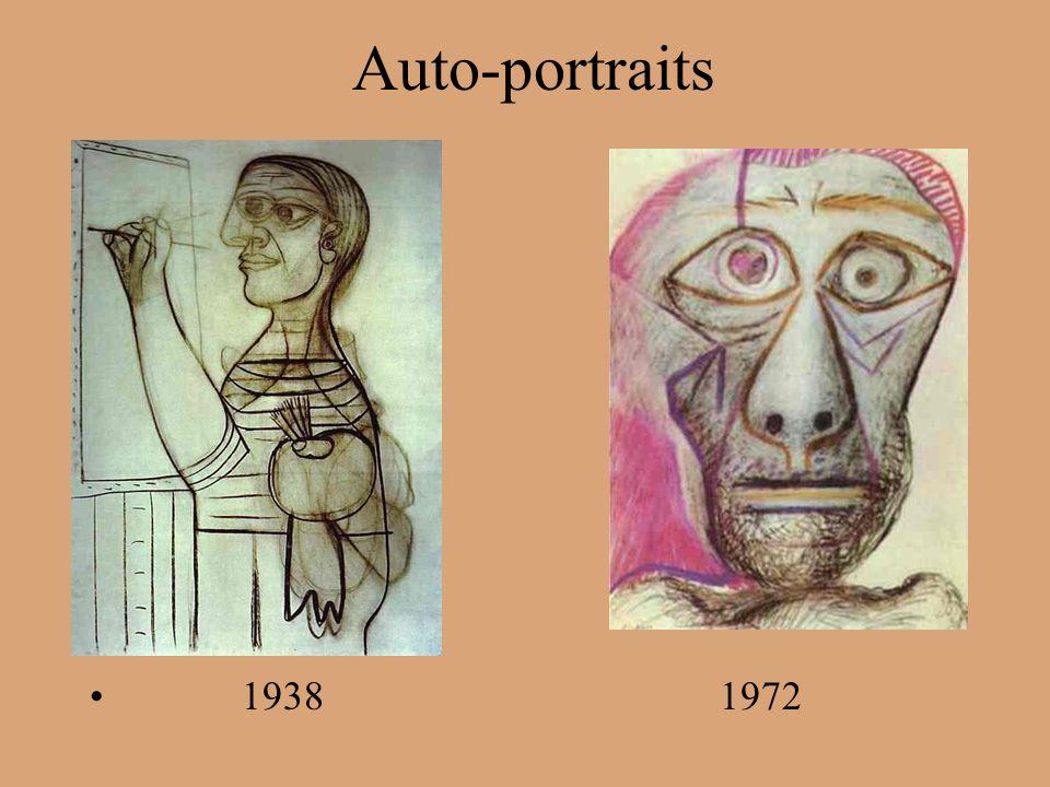 Auto-portraits 19381972
