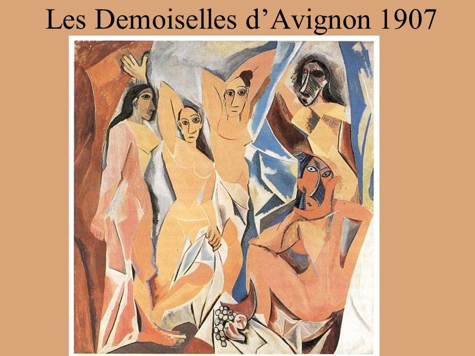 Les Demoiselles dAvignon 1907