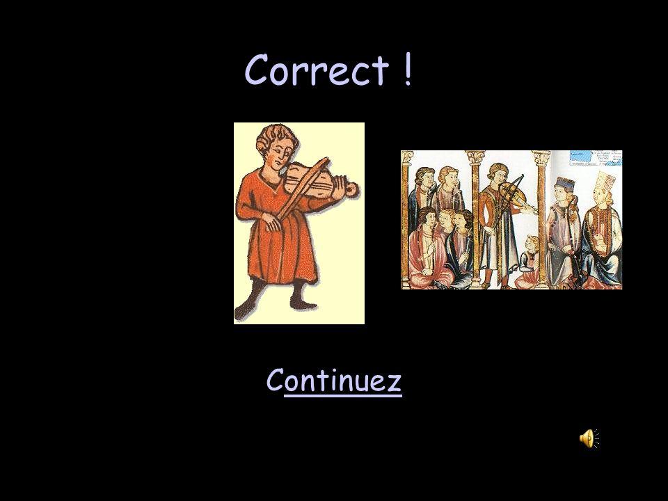 Vocabulaire 2 - 100 Un troubadour… protège le château. combat dans une bataille. raconte des histoires et chante. chasse des animaux.