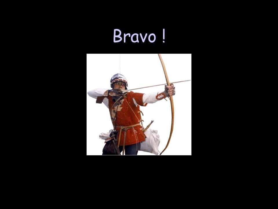 Châteaux - 100 De larchère, un archer pouvait… jeter ses arcs. tirer sur son ennemi sous protection.tirer sur son ennemi sous protection. guetter faci