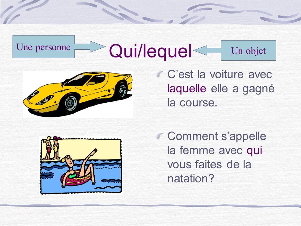 Madame est le professeur que les filles parlent français.