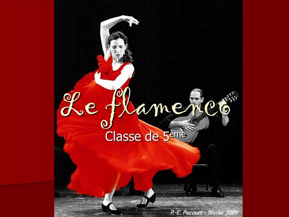 Le flamenco Classe de 5 ème P.-E. Pecourt – février 2009