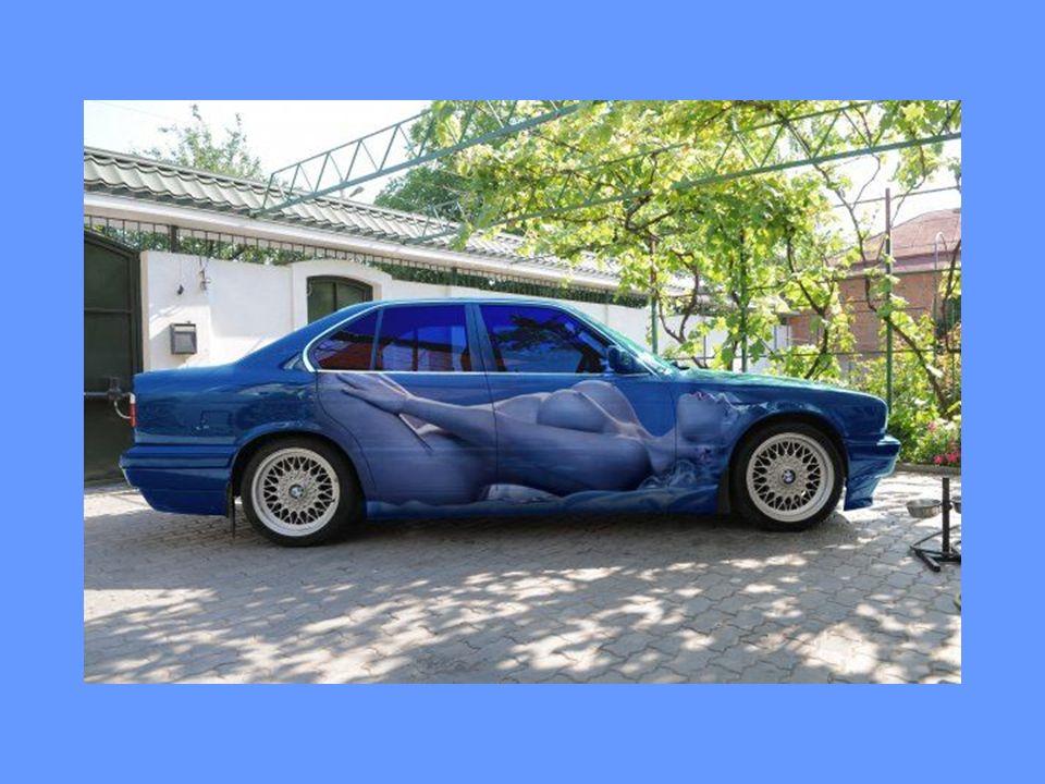 Les voitures: une autre une belle façon d exprimer son art et d agrémenter la ville