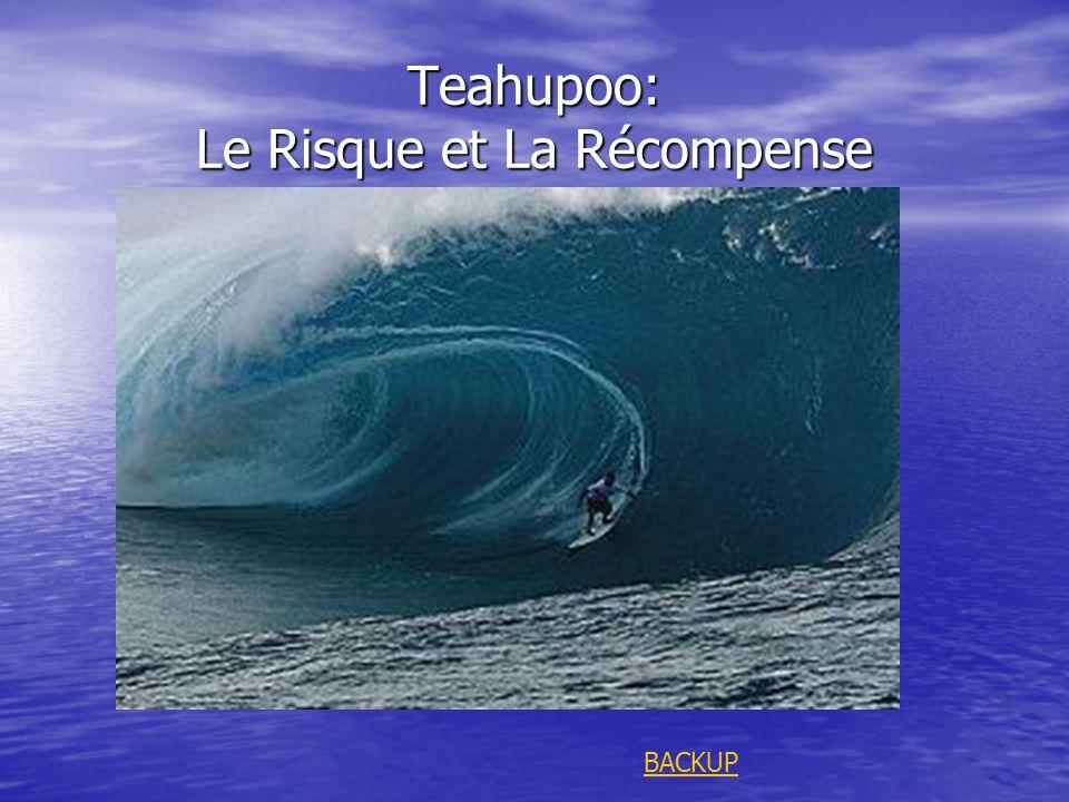 Teahupoo: Le Risque et La Récompense BACKUP
