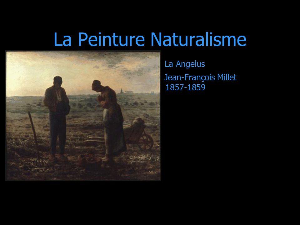 La Peinture Naturalisme La Angelus Jean-François Millet 1857-1859