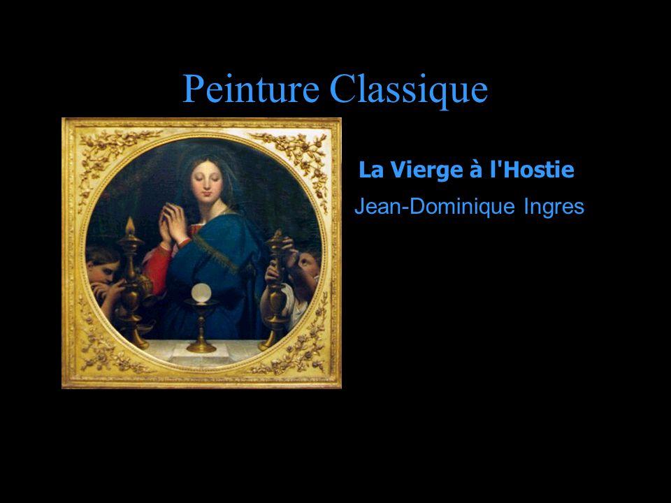 Peinture Classique La Vierge à l'Hostie Jean-Dominique Ingres