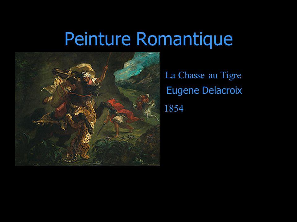 Romantique Un modèle de la peinture fait comme expression individuelle, ou émotion