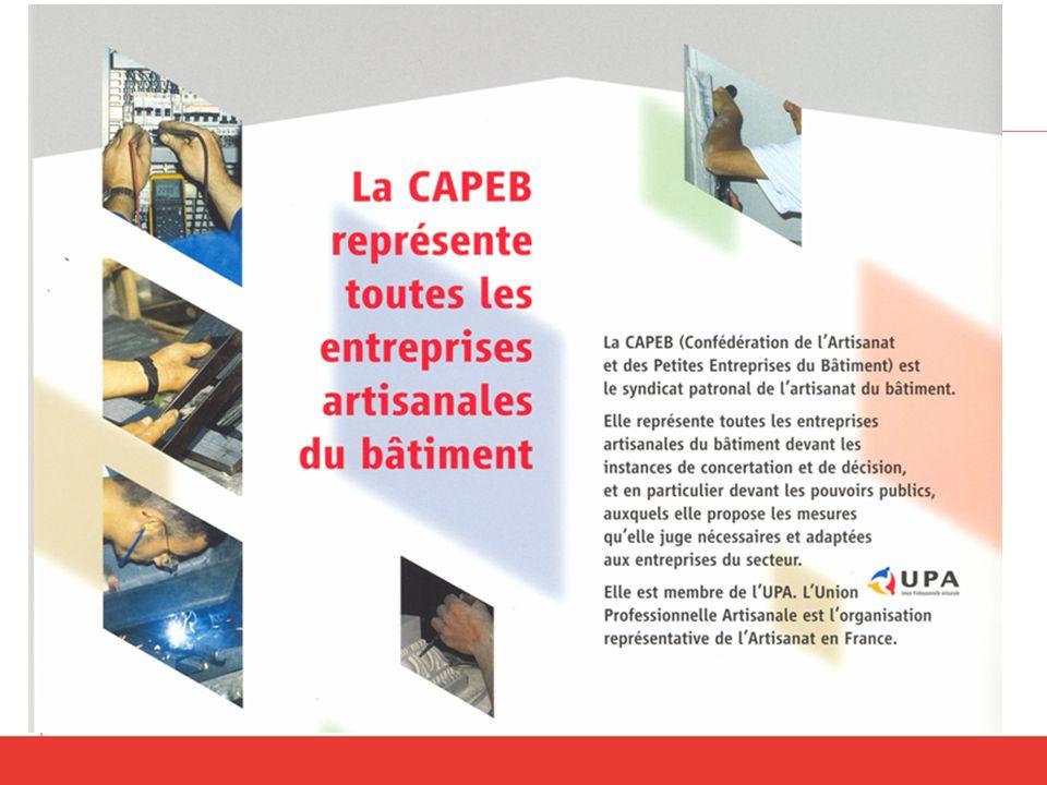 Lartisanat du bâtiment: première entreprise de France du bâtiment premier employeur premier formateur par apprentissage…