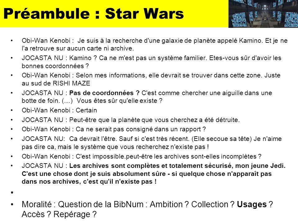 Préambule : Star Wars Obi-Wan Kenobi : Je suis à la recherche d'une galaxie de planète appelé Kamino. Et je ne l'a retrouve sur aucun carte ni archive