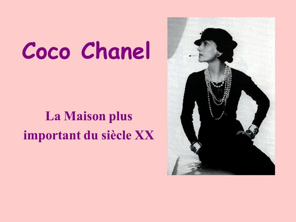Coco Chanel La Maison plus important du siècle XX