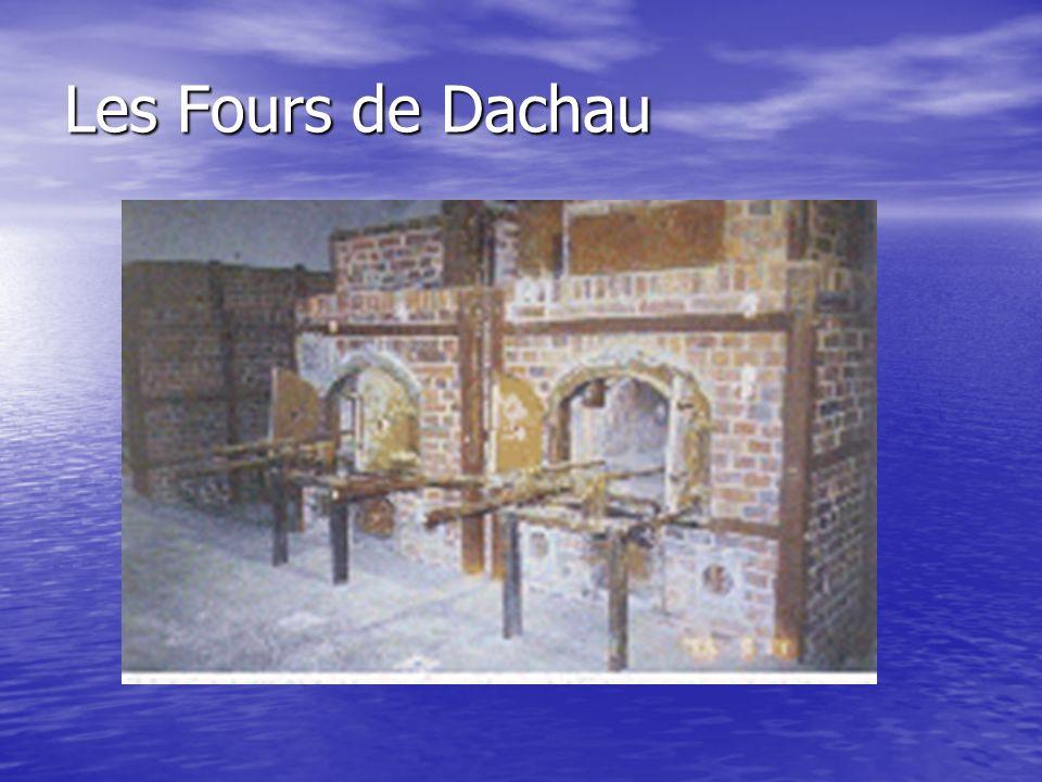 Les Fours de Dachau