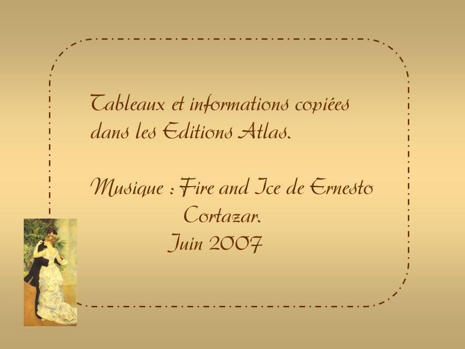 Auguste Renoir est un peintre qui a laissé une quantité considérable dœuvres.