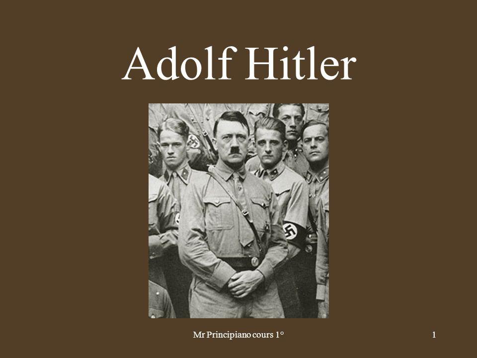 Adolf Hitler 1Mr Principiano cours 1°