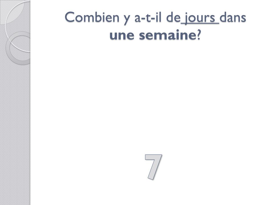 Shabiller… a) 3 secondes b) 3 minutes c) 3 heures