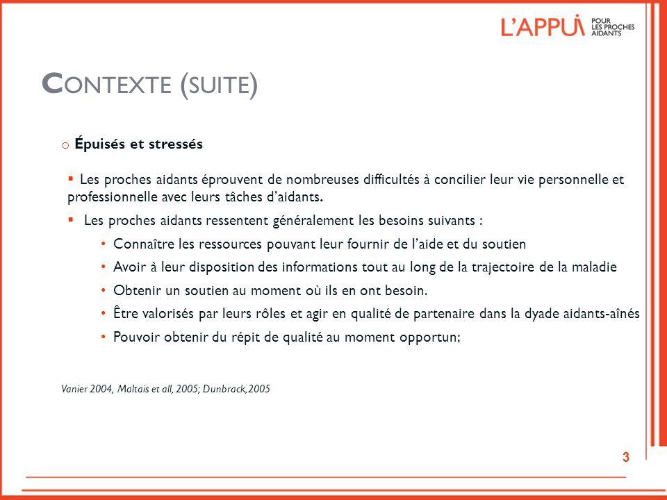 P ORTRAIT DES BESOINS DES PROCHES AIDANTS DANS LA RÉGION DU B AS -S AINT -L AURENT Le portrait de la région du Bas-Saint-Laurent, réalisé en 2009, a permis de recueillir les perceptions de 167 proches aidants.