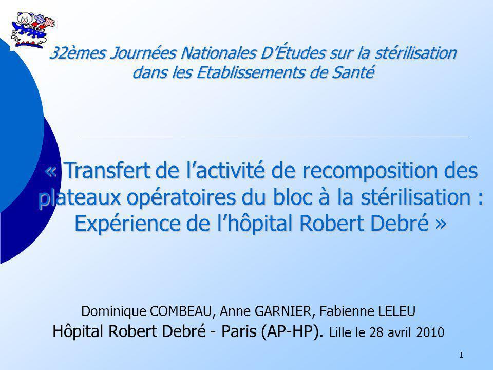 2 Robert Debré : quelques chiffres….