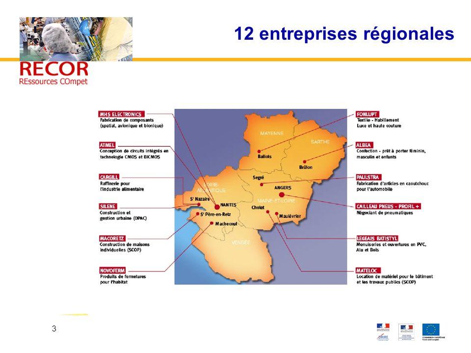 3 12 entreprises régionales