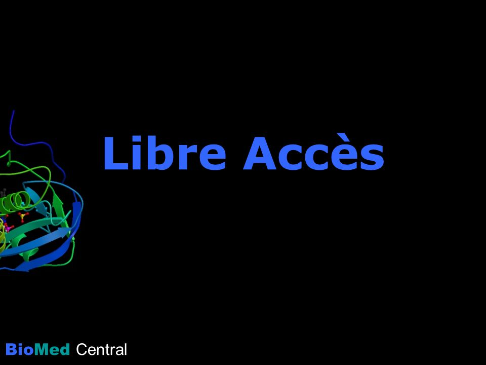 BioMed Central Libre Accès