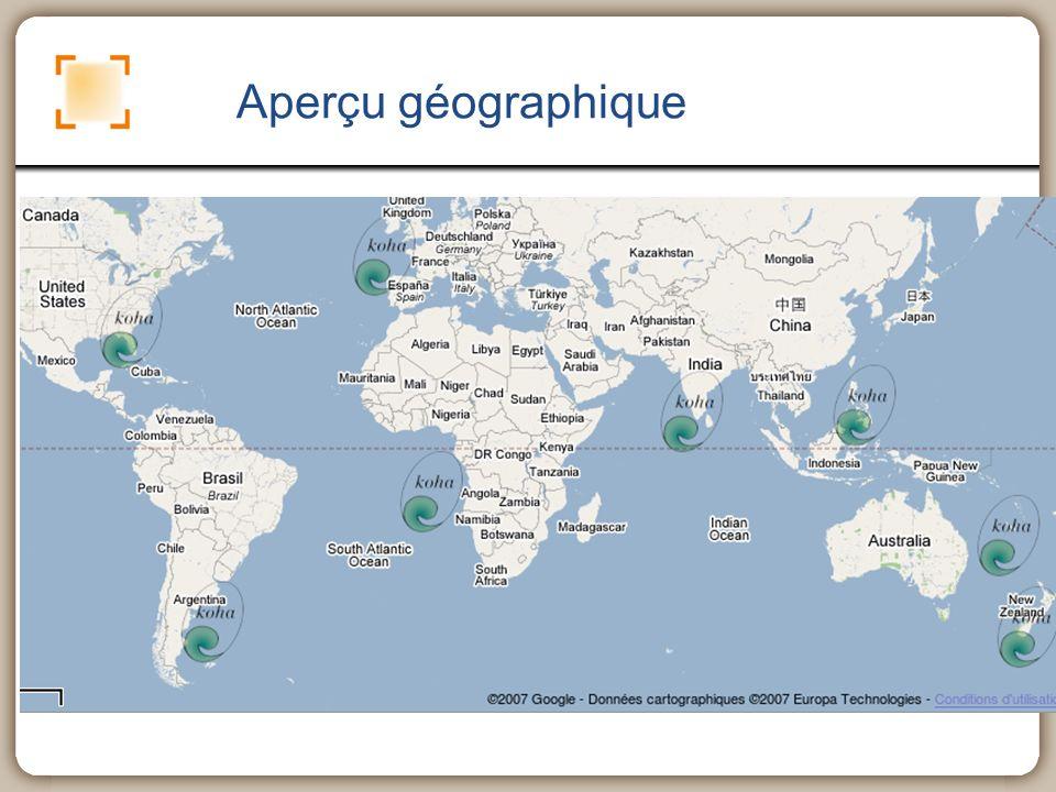 Aperçu géographique
