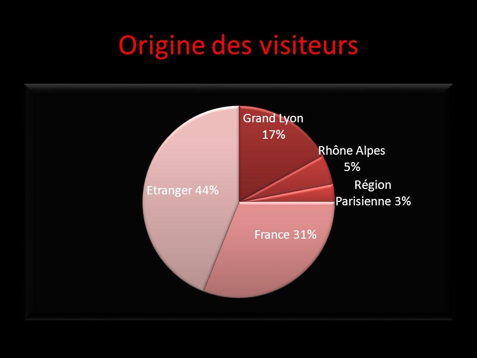 Origine des visiteurs