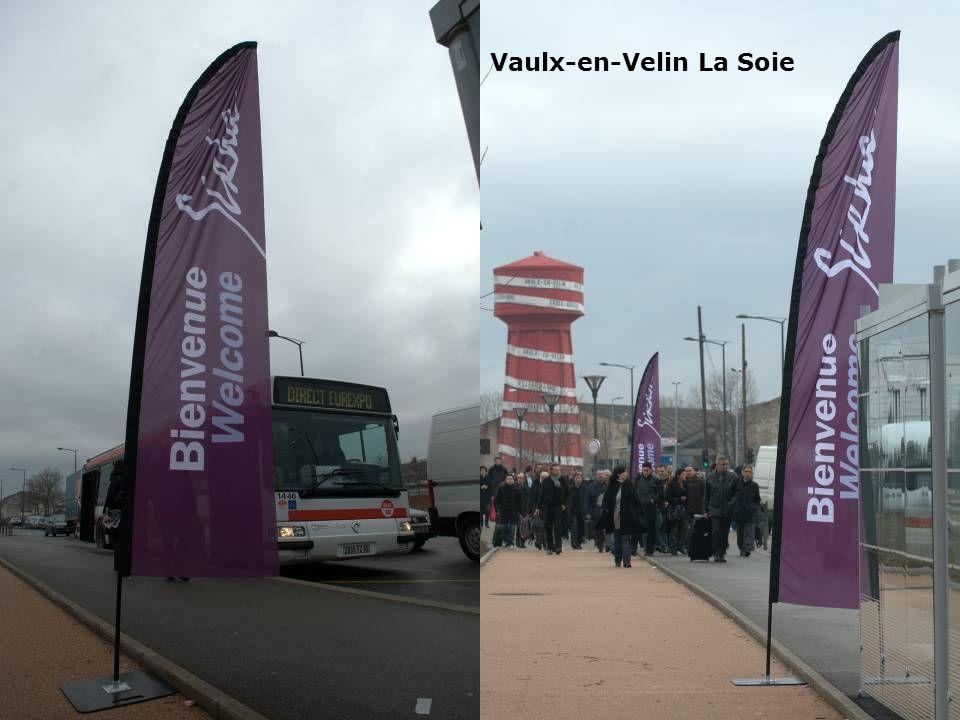 Gare Perrache Vaulx-en-Velin La Soie