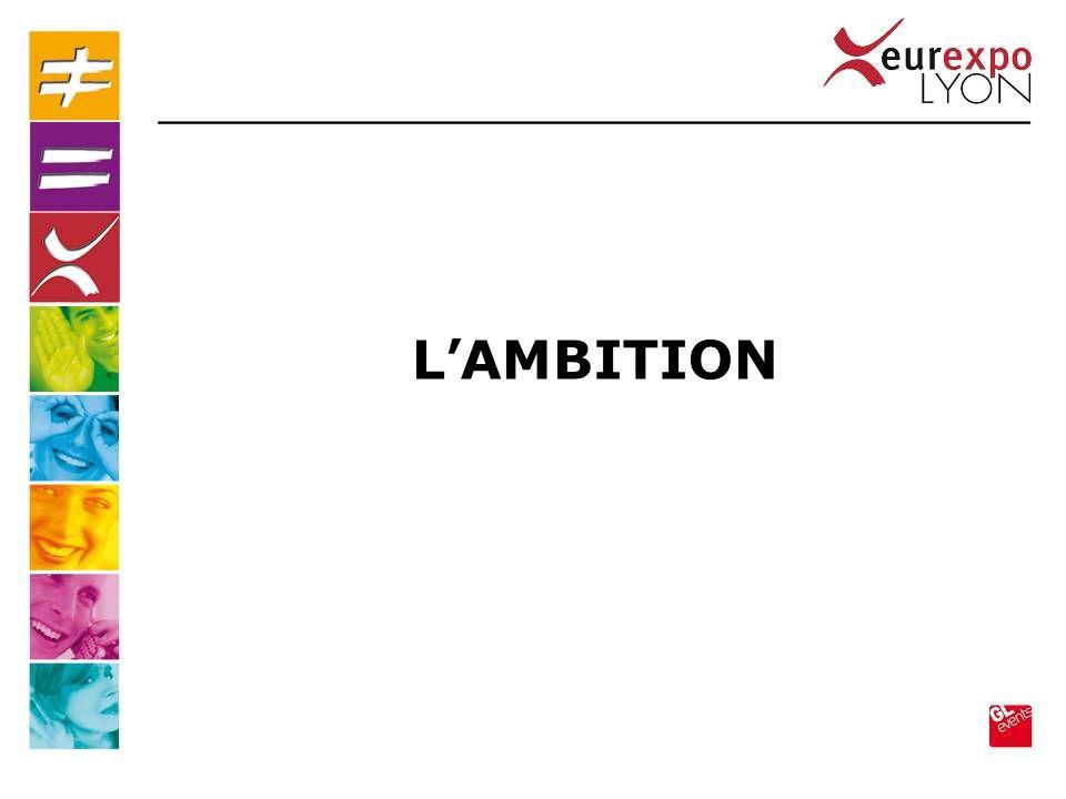 En d é clinaison de la d é marche ONLY LYON, l ambition de la destination LYON est de DEVENIR UNE REFERENCE de l ACCUEIL en EUROPE dans un 1 er temps à destination du TOURISME d AFFAIRES puis à tous les visiteurs et/ou nouveaux arriv é s à LYON LAMBITION de La DESTINATION LYON