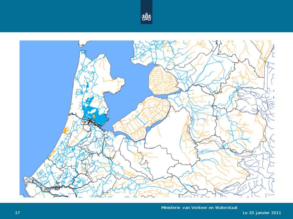 Ministerie van Verkeer en Waterstaat 17Le 20 janvier 2011