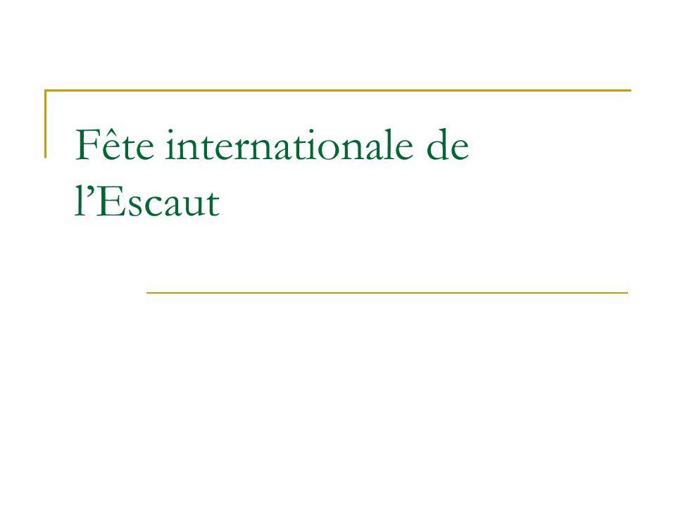Fête internationale de lEscaut