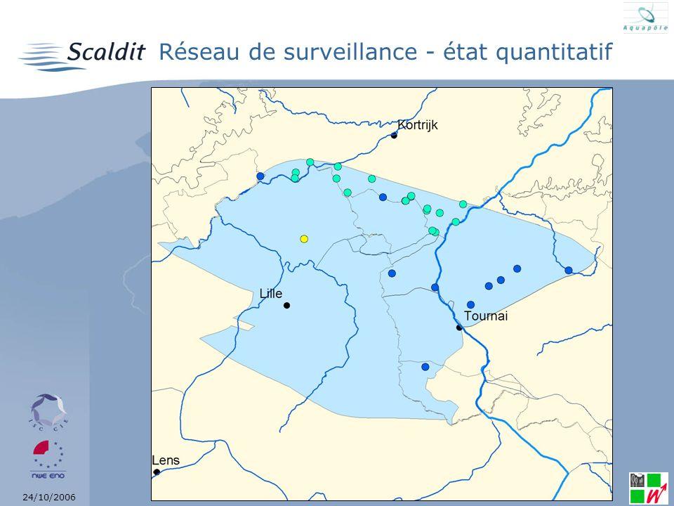 24/10/2006 Réseau de surveillance - état chimique