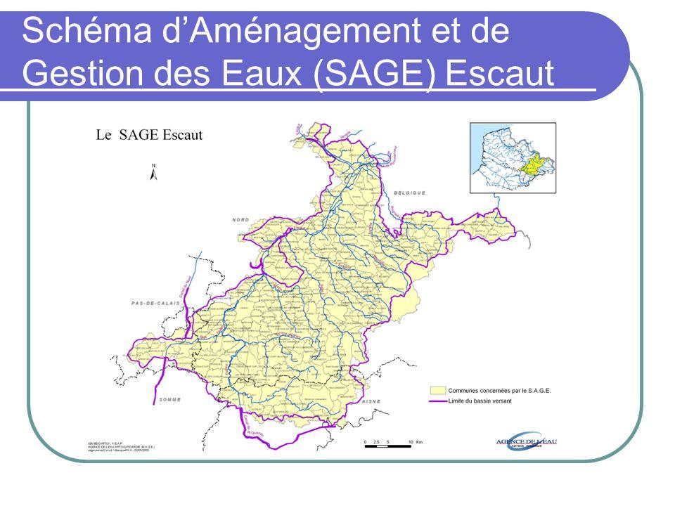 Schéma dAménagement et de Gestion des Eaux (SAGE) Escaut