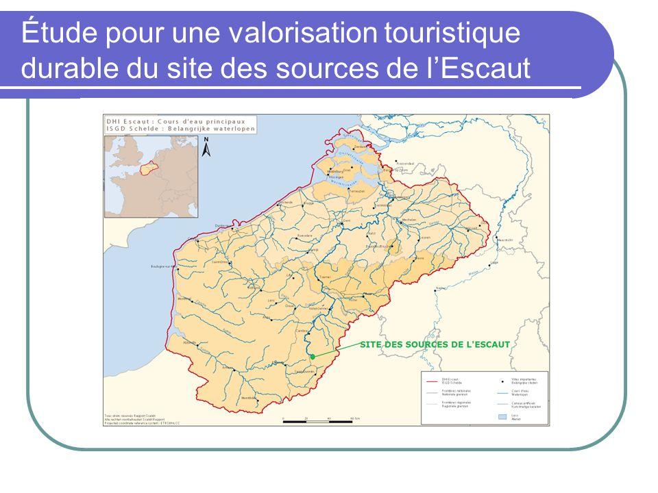 Étude pour une valorisation touristique durable du site des sources de lEscaut