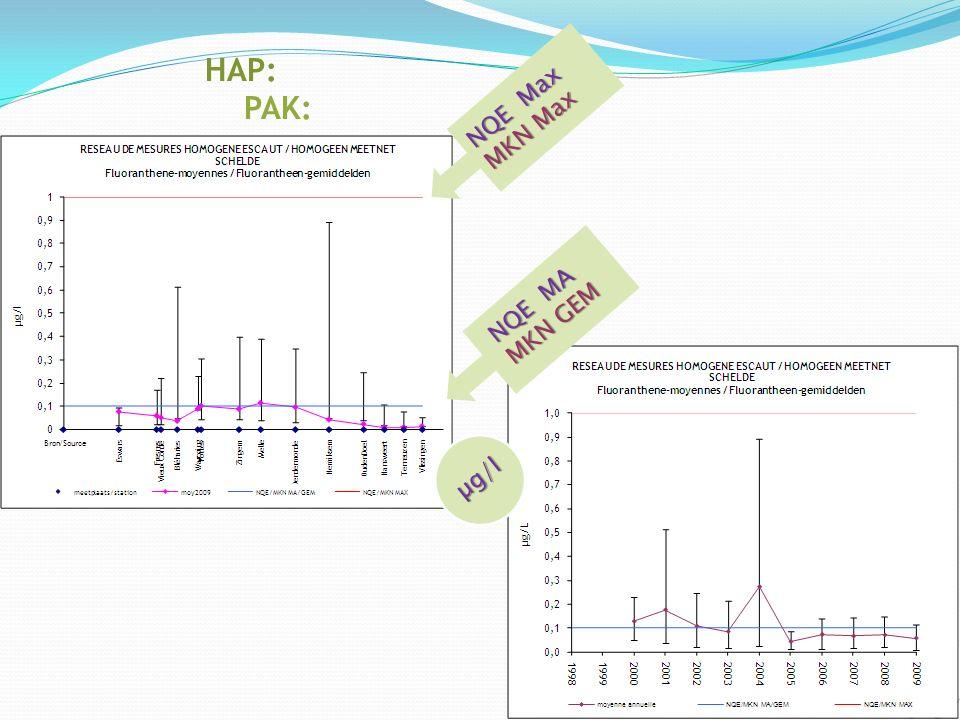 Pesticides: Bestrijdingsmiddelen: NQE Max MKN Max µg/l NQE MA MKN GEM