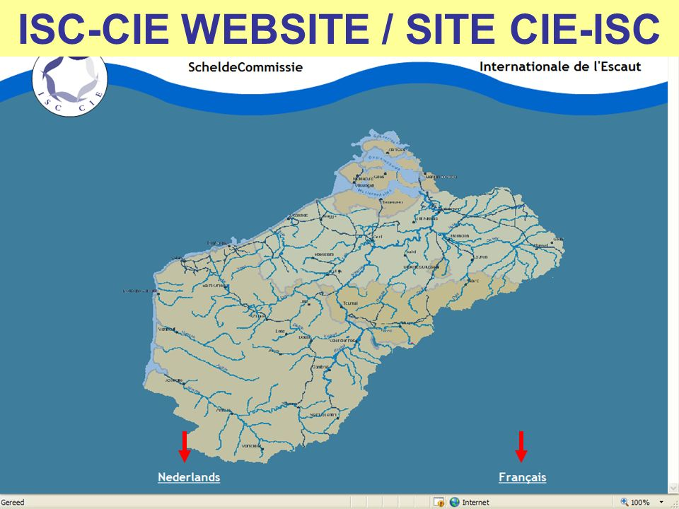 ISC-CIE WEBSITE / SITE CIE-ISC